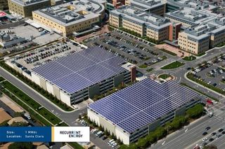 Recurrent Energy - Kaiser Santa Clara Hospital Rendering