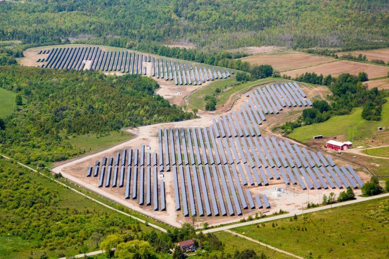 Recurrent Energy_Waubaushene 3_Solar PV Site